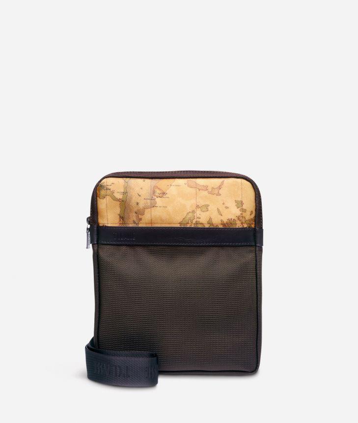 Work Way Mini crossbody bag in nylon,front