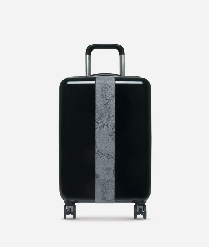 Solid Case Trolley piccolo con Geo Dark,front