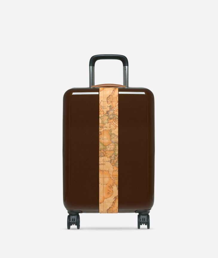 Solid Case Small suitcase in Geo Classic,front