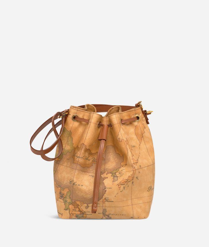 Geo Classic Medium bucket bag,front
