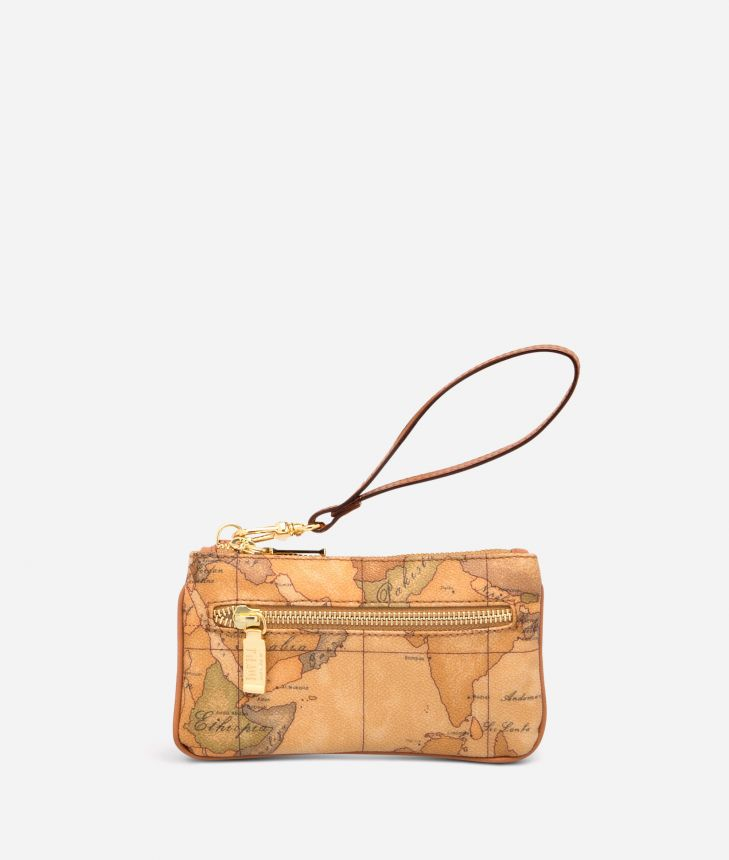 Geo Classic Clutch with wristlet,front