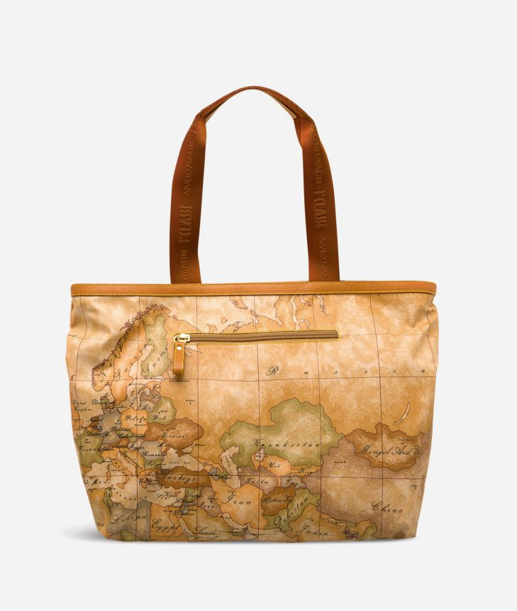 Geo Soft Large shopping bag,front