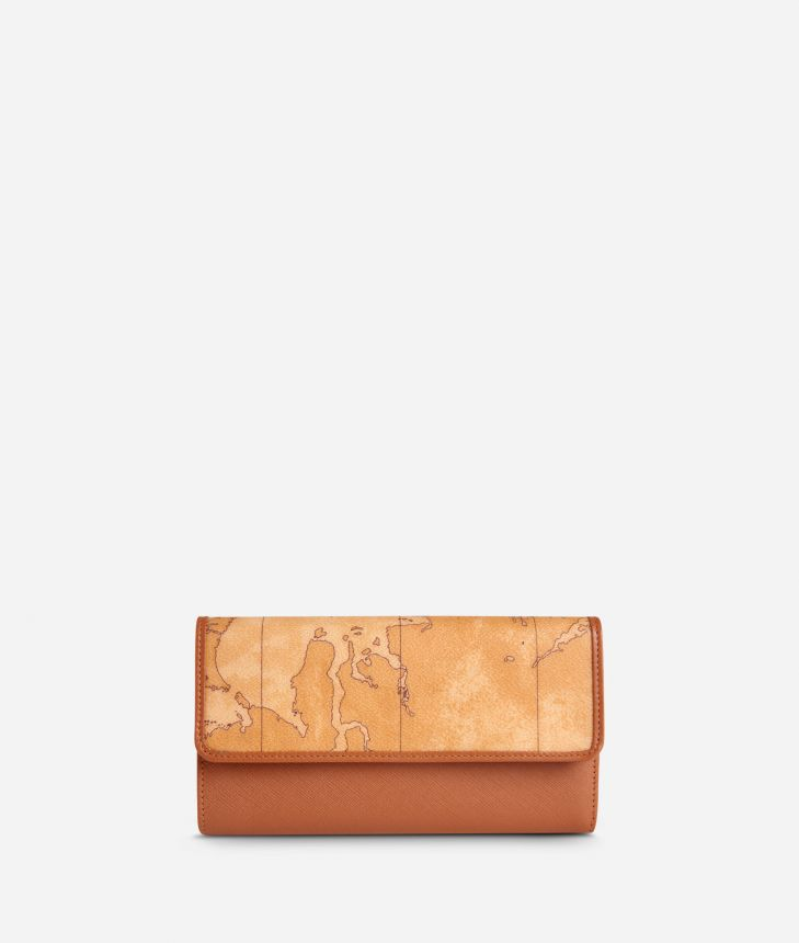 Geo Classic Large wallet with pocket,front
