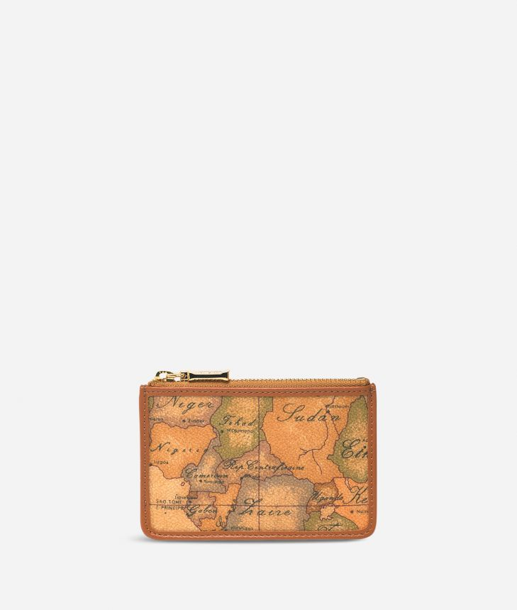 Geo Classic Zipped card holder,front