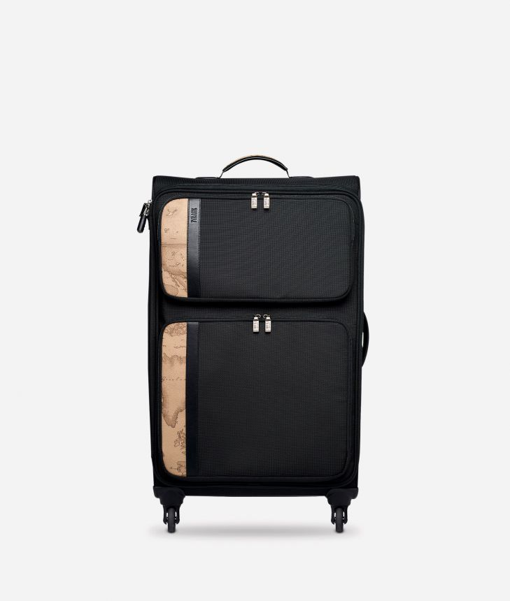 Work Way Large nylon suitcase,front