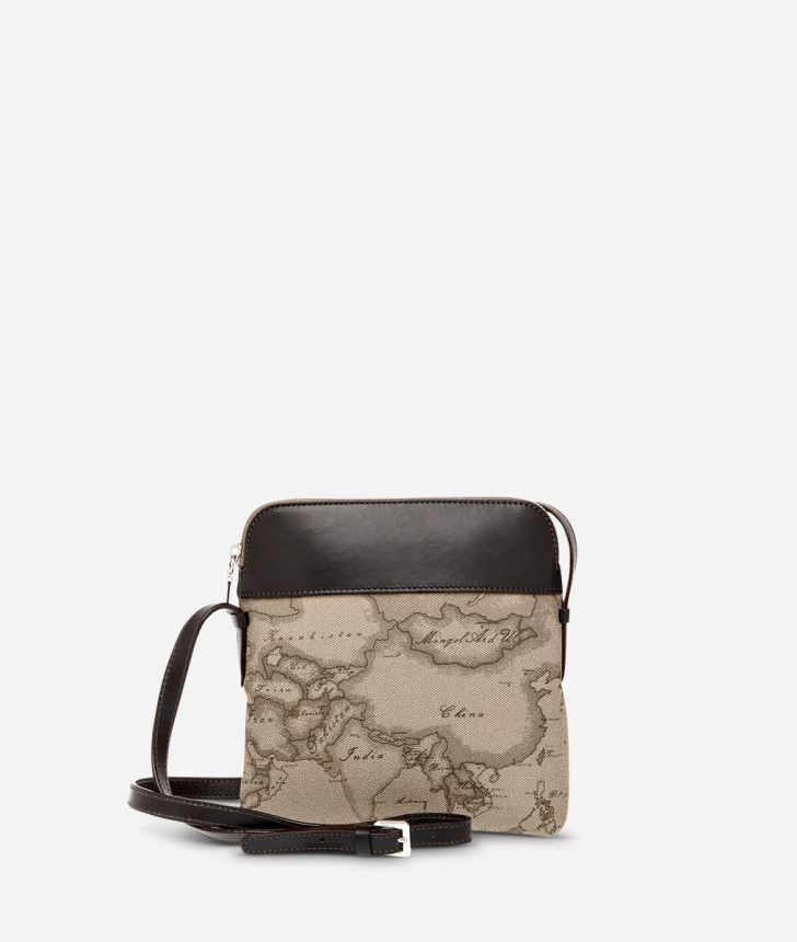 Geo Tortora Small crossbody bag,front