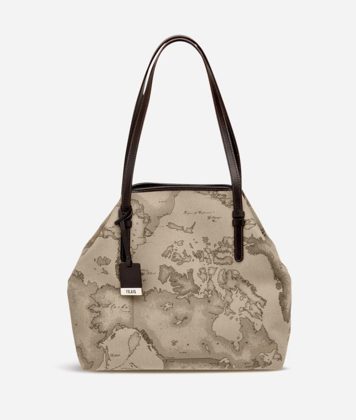 Geo Tortora Medium shoulder bag,front