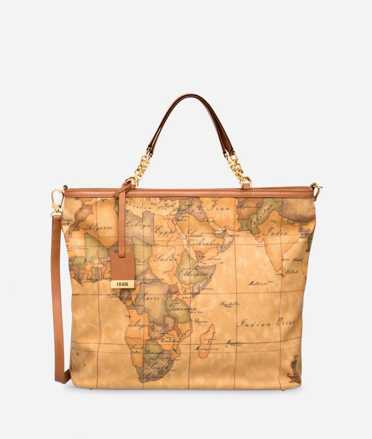 Geo Classic  Shopping bag with strap,front