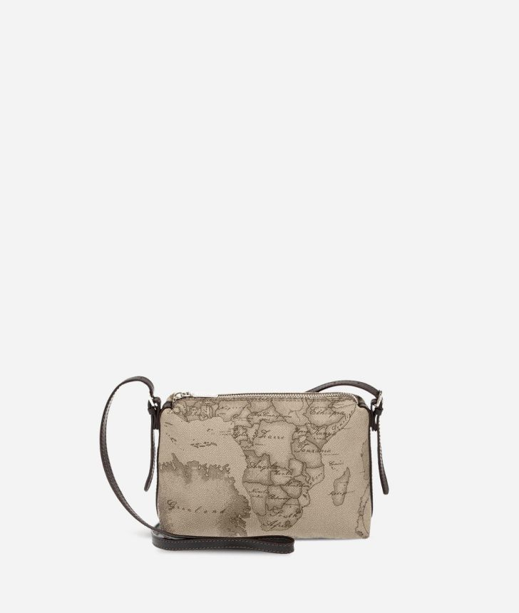 Geo Tortora Mini crossbody bag,front