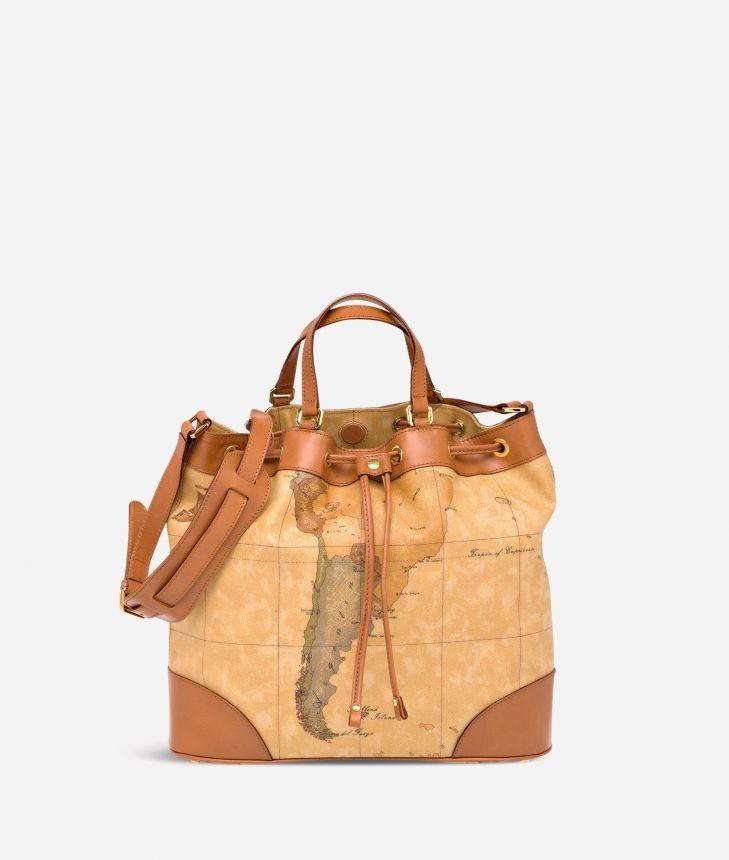 Geo Classic Bucket bag,front