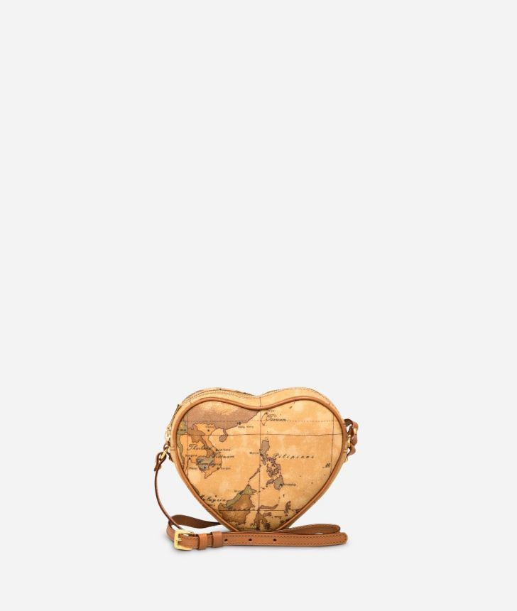 Geo Classic Heart mini crossbody bag,front