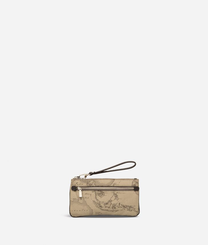 Geo Tortora Large wristlet pouch,front