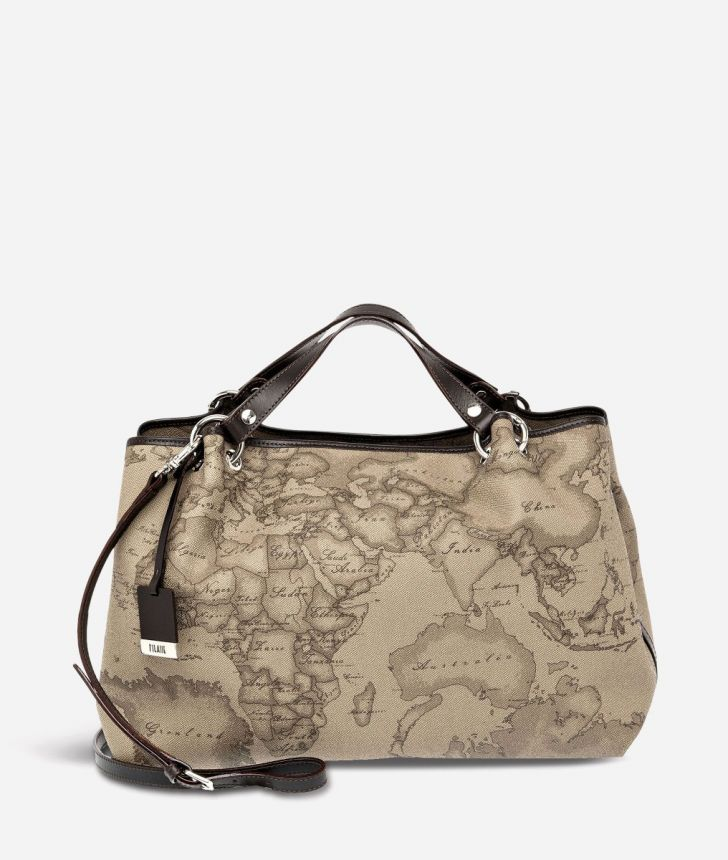 Geo Tortora Large handbag,front