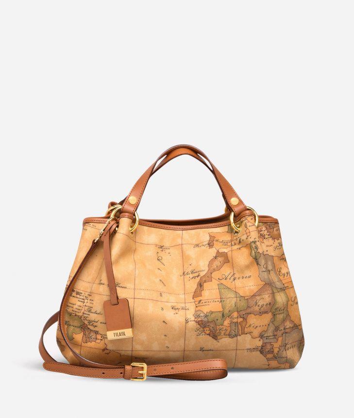 Geo Classic Medium handbag,front