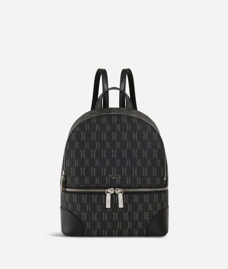 Monogram Mini Backpack Black,front