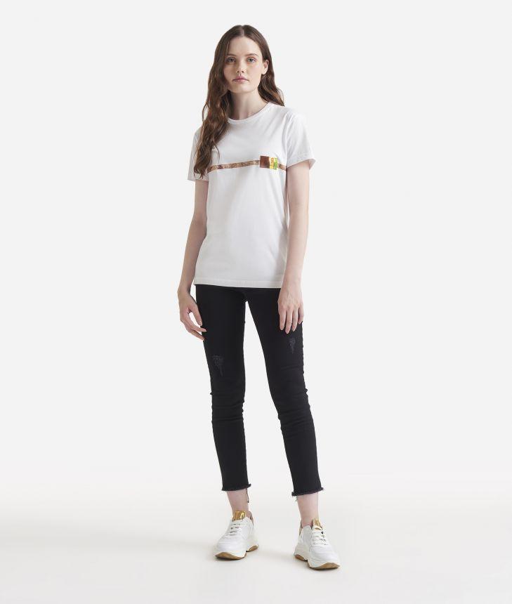 Oversize t-shirt White,front