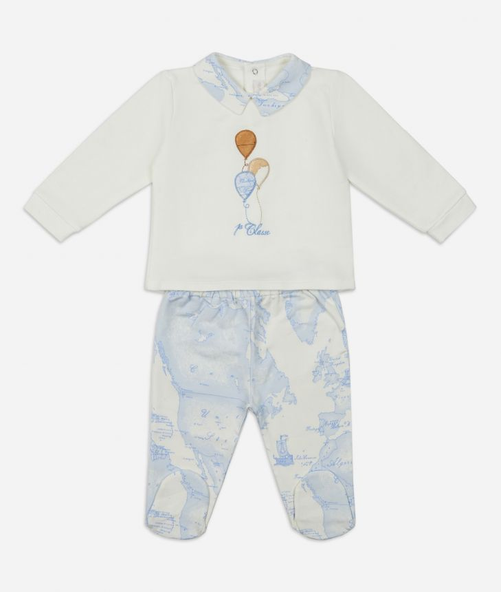 Baby clothing set Balloon,front