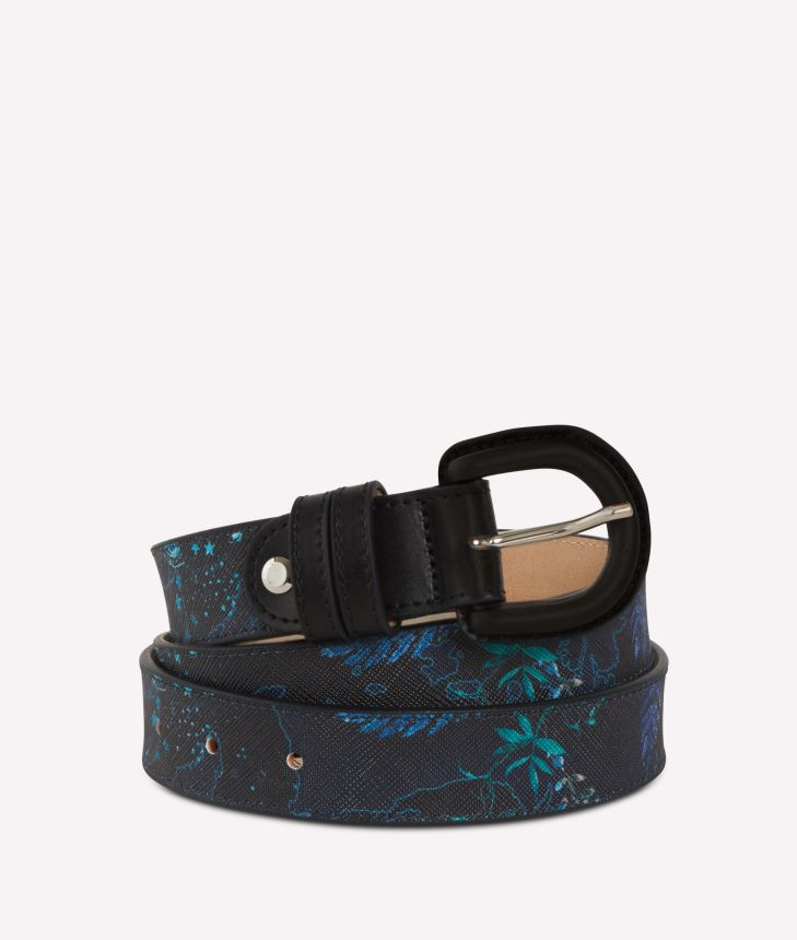 Magic Forest Belt Blueberry,front