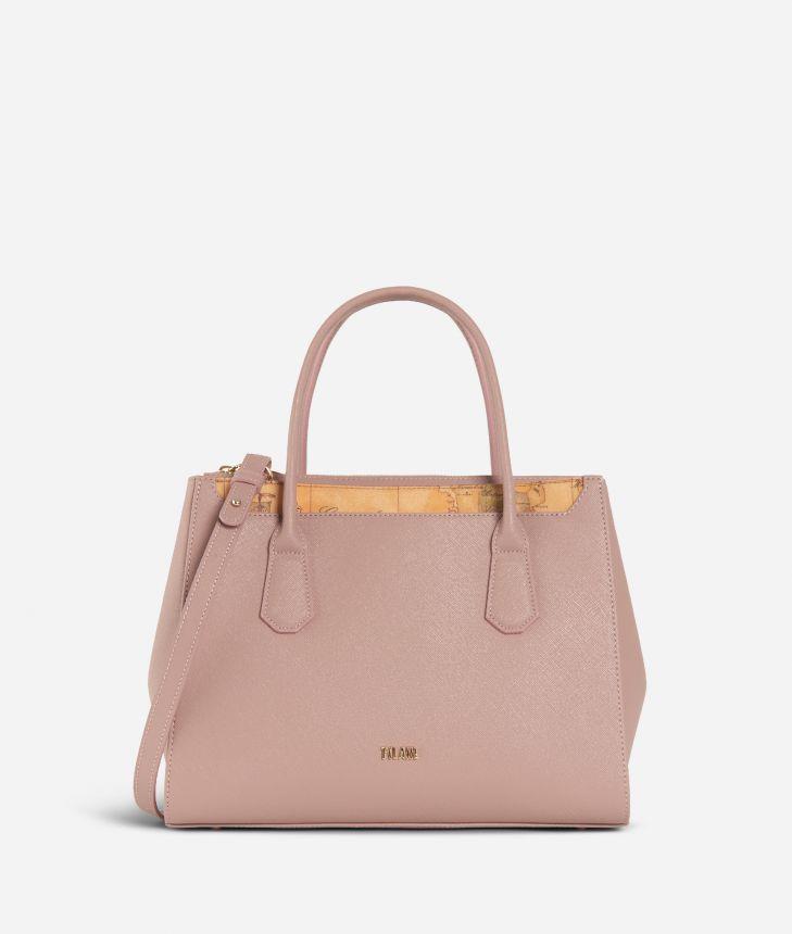 Sky City Medium handbag  Boreal Pink,front