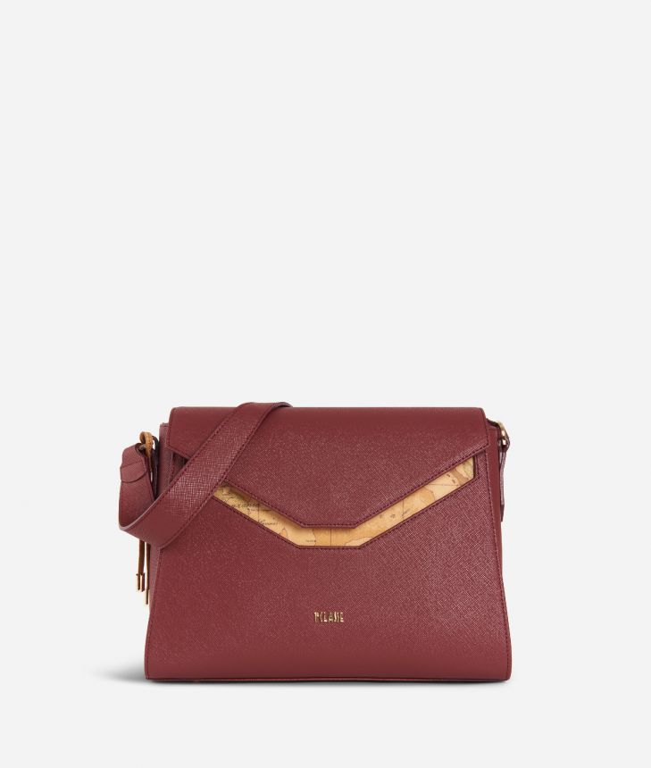 Sky City Hobo bag Cabernet,front