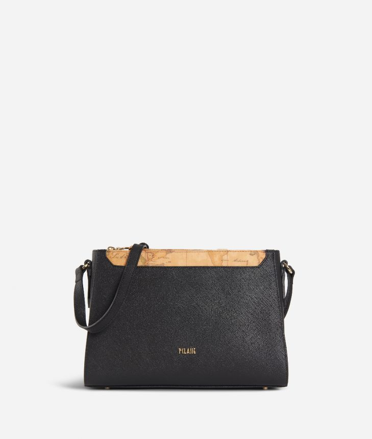 Sky City Crossbody bag Black and Geo Classic Black,front