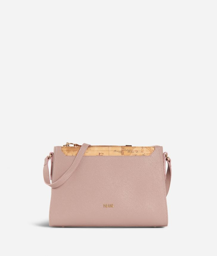 Sky City Crossbody bag  Boreal Pink,front