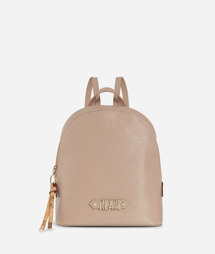 Winter Smile Backpack Cream,front