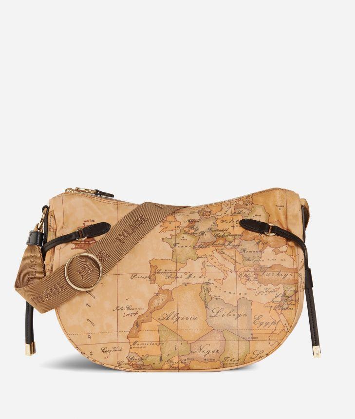 Soft Wood Small crossbody bag Black,front