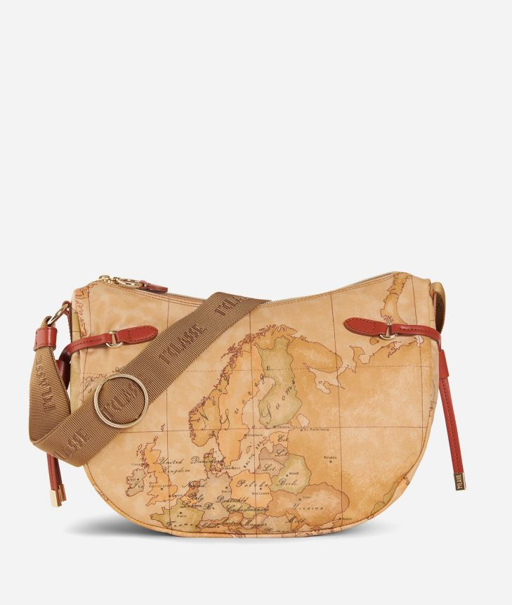 Soft Wood Crossbody bag Maple,front