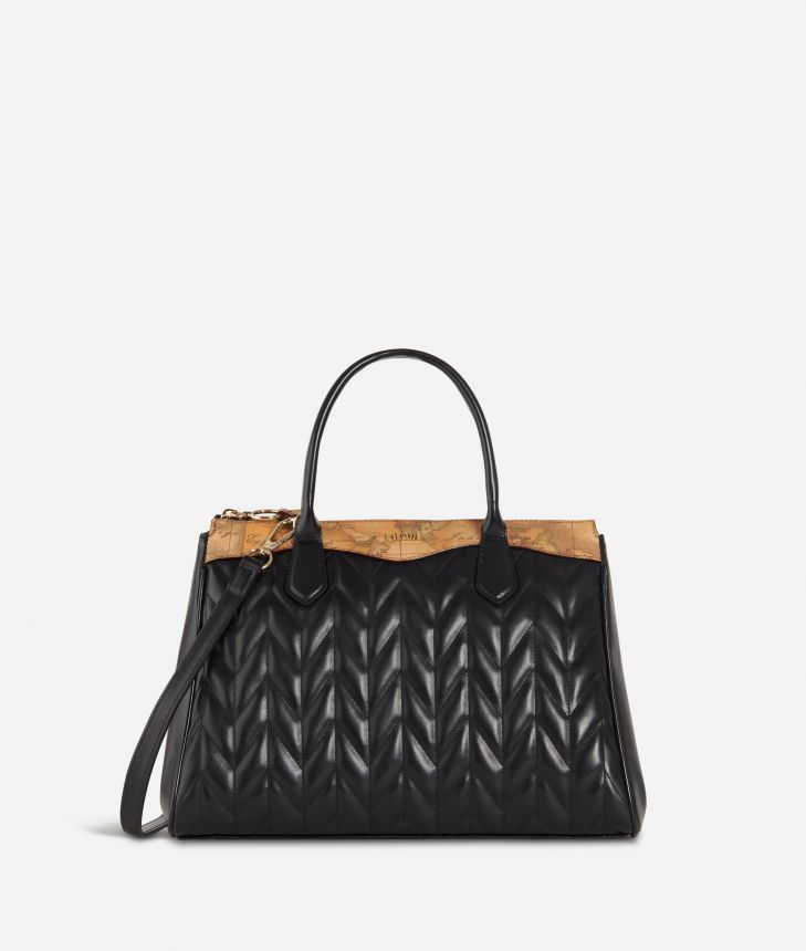 Moonlight Medium Handbag Black,front