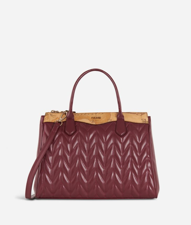 Moonlight Medium Handbag Cabernet,front