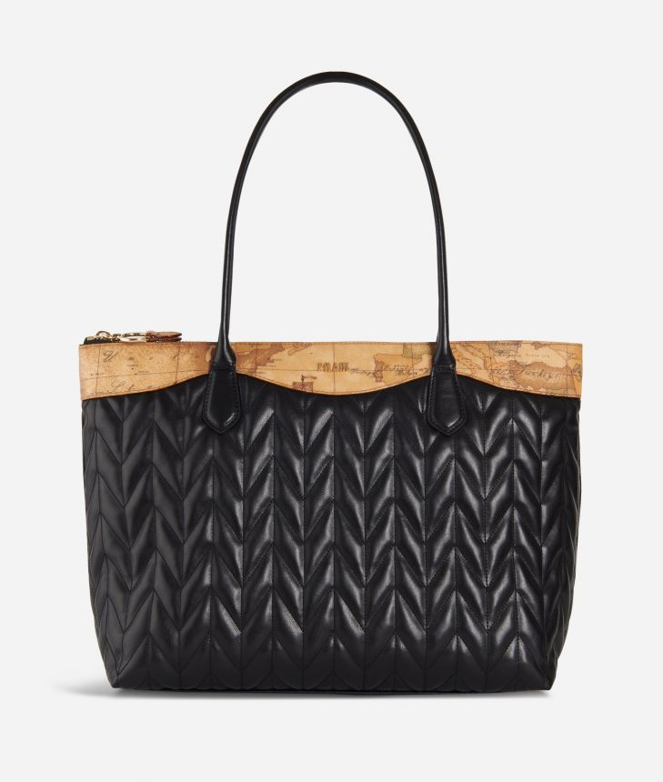 Moonlight Shopping bag Black,front
