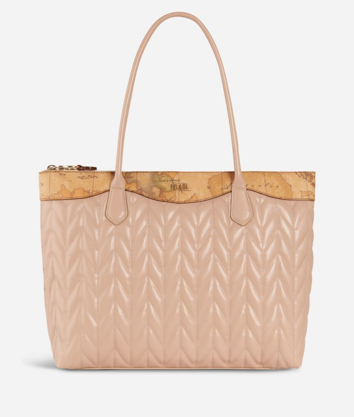 Moonlight Shopping bag Nude,front