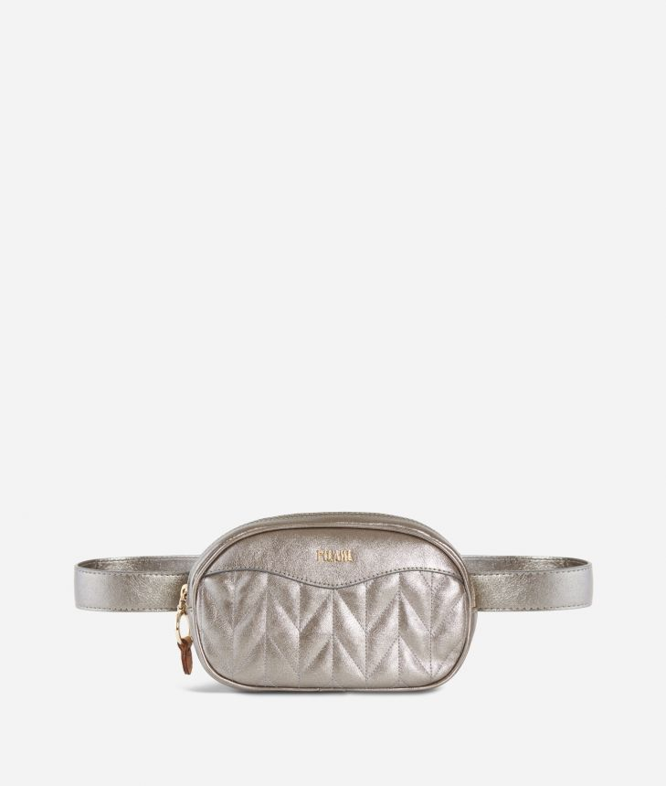 Moonlight Belt bag Argento,front