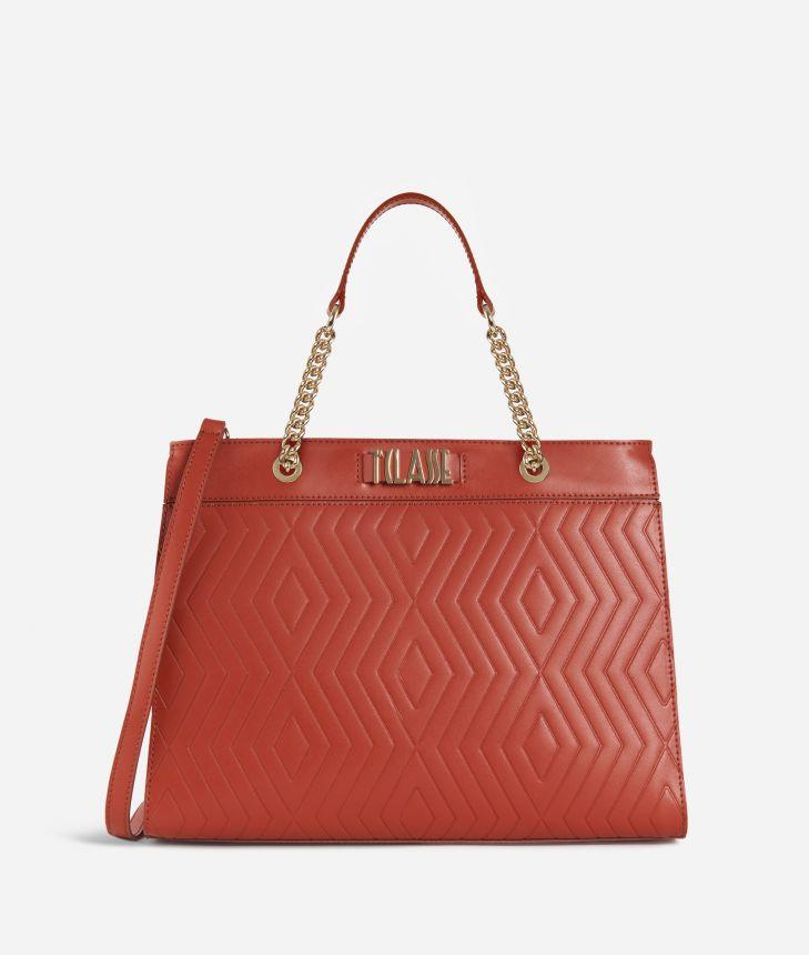 Starlight Line Medium Handbag  Maple,front