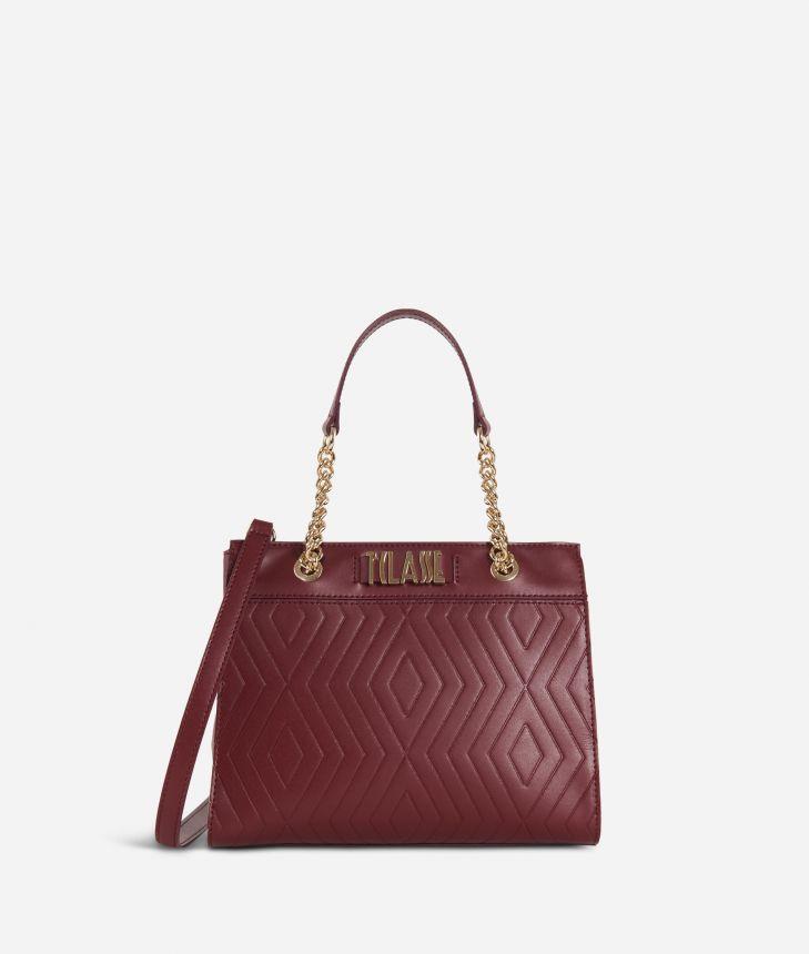 Starlight Line Small Handbag Cabernet,front