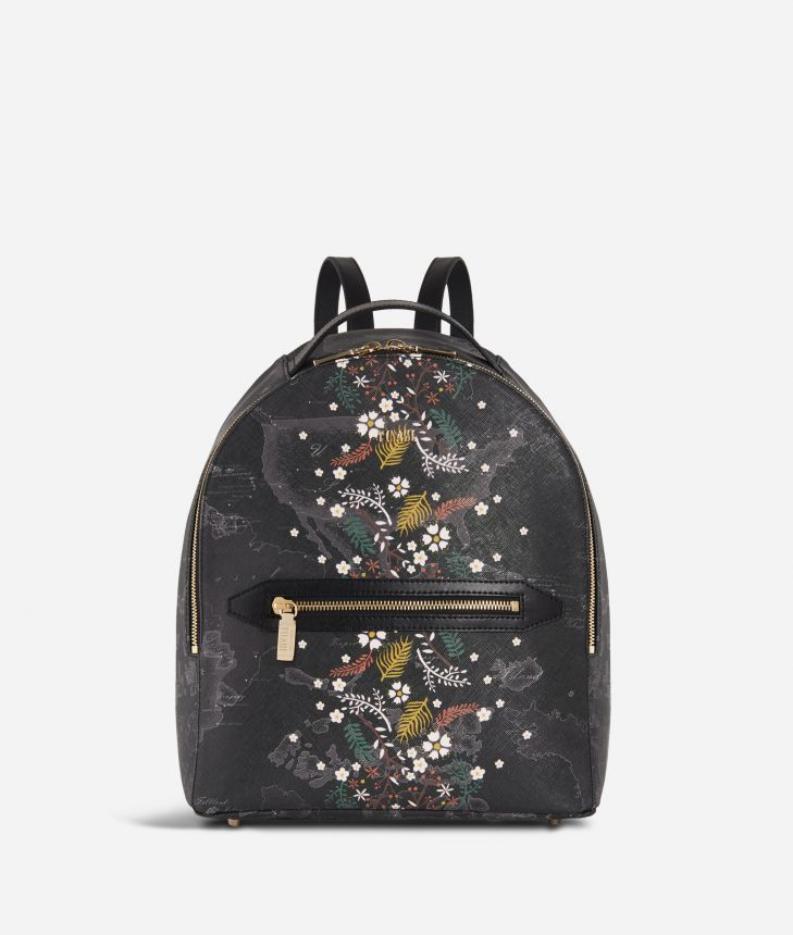 Autumn Night Backpack Black,front