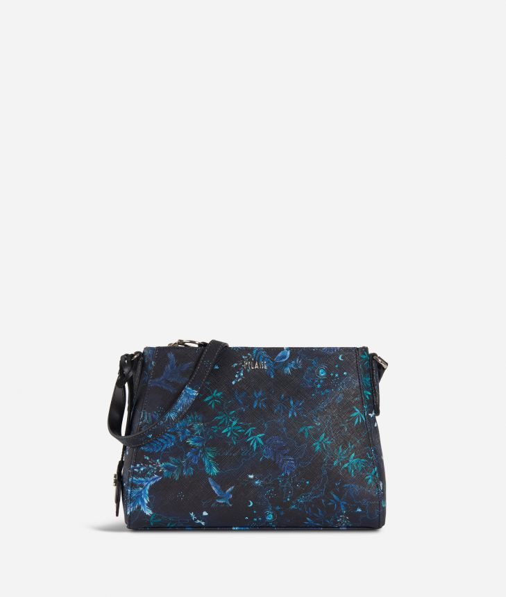 Magic Forest Crossbody Bag Blueberry,front