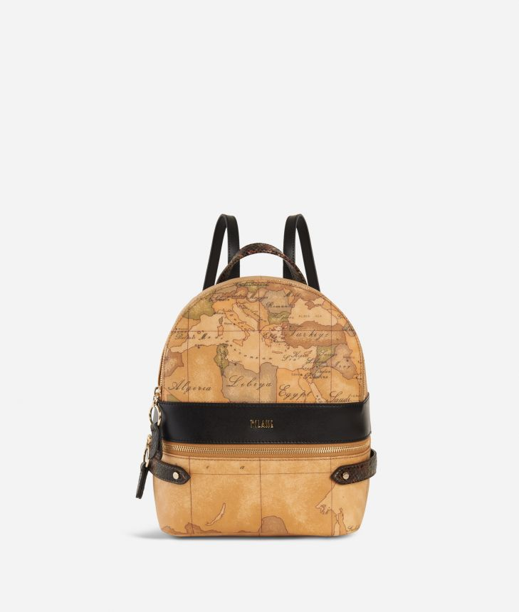 Fantasy Geo Backpack Black,front