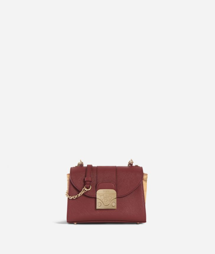 Dream Bag Small Crossbody Bag Cabernet,front