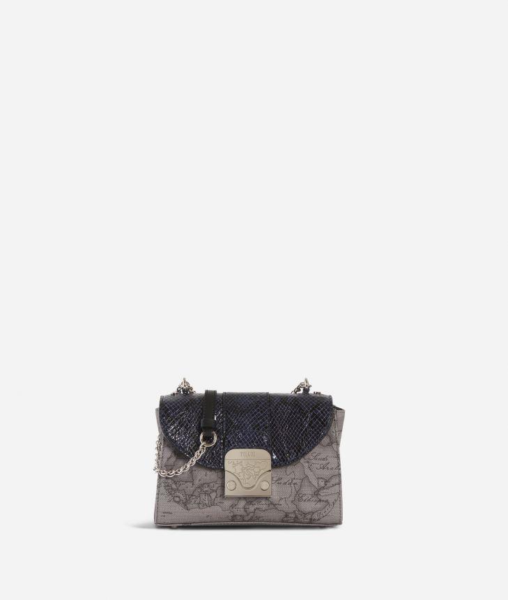 Dream Bag Geo Dark Small Crossbody Bag Black,front