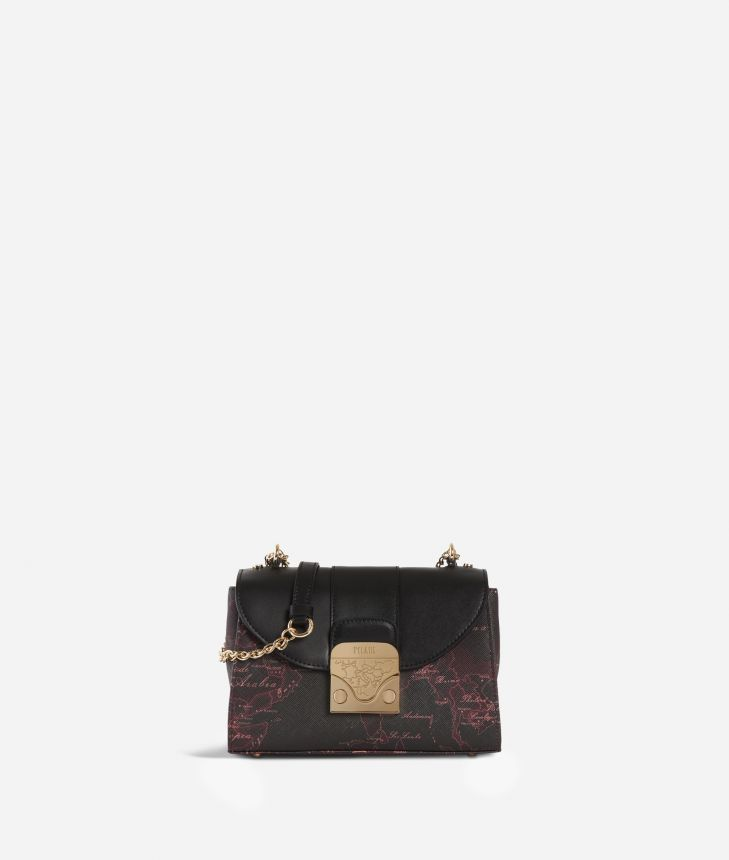Dream Bag Geo Bordeaux Crossbody Bag Cabernet,front