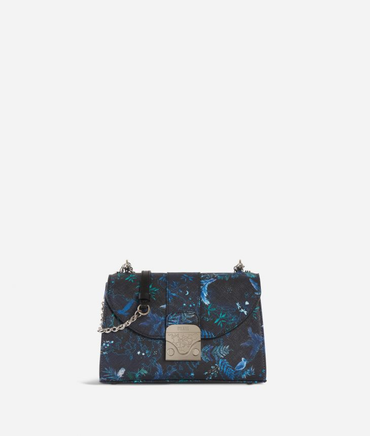 Dream Bag Magic Forest Crossbody Bag Blueberry,front
