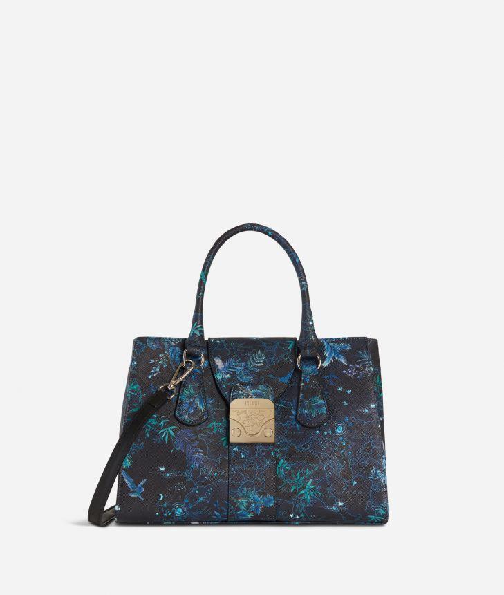 Daydream Bag Magic Forest Handbag Blueberry,front