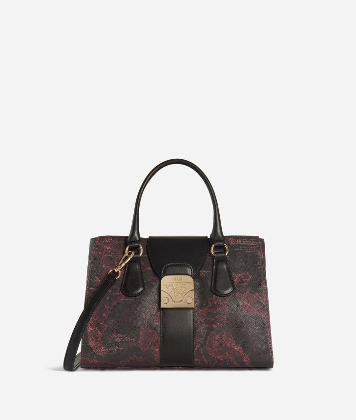 Daydream Bag Geo Bordeaux Handbag Cabernet,front