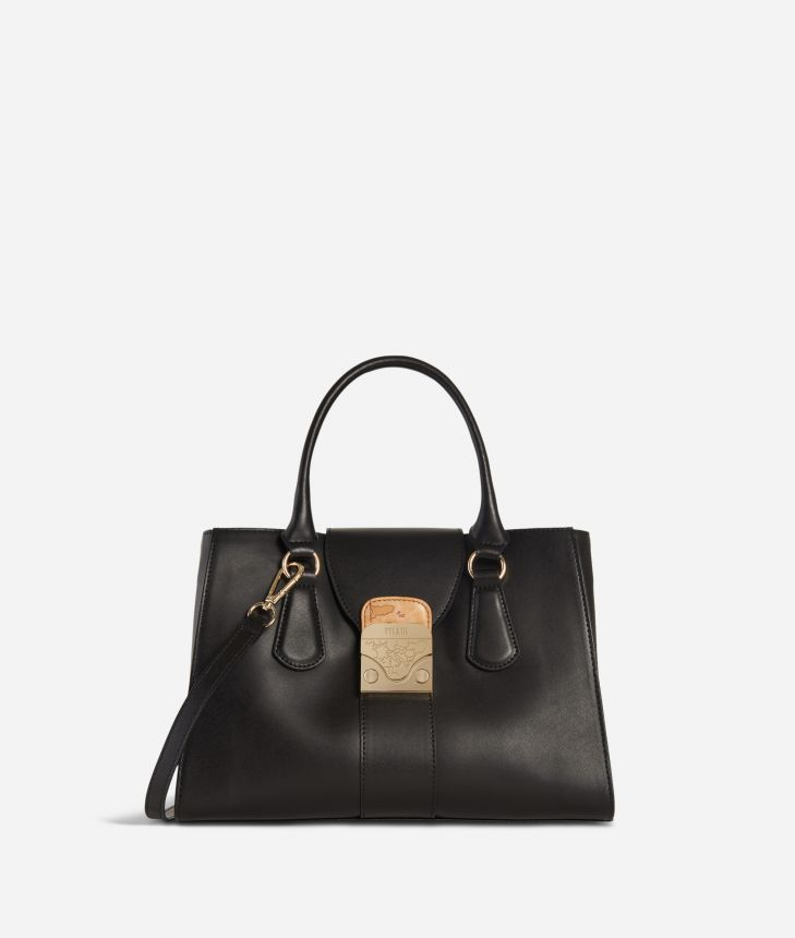 Daydream Bag Leather Handbag Black,front