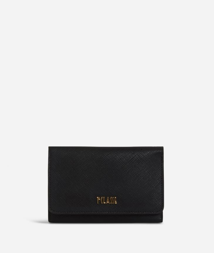 Sky City Wallet Black,front