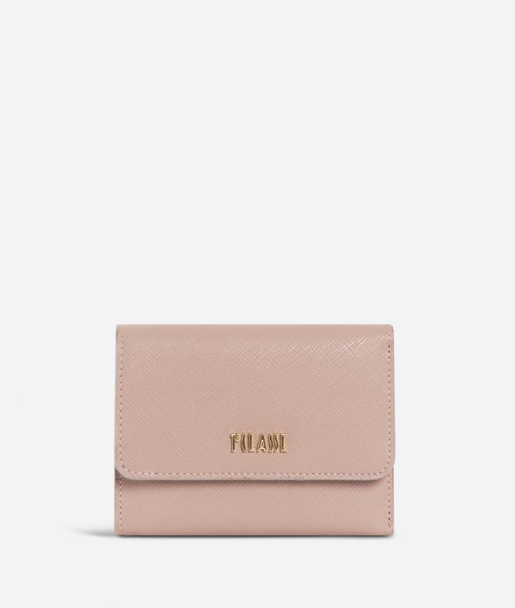 Sky City Small Wallet Boreal Pink,front
