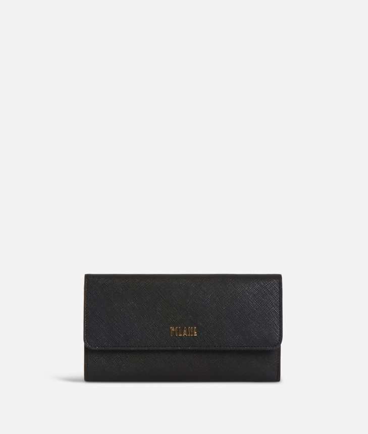 Sky City Big Wallet Black,front