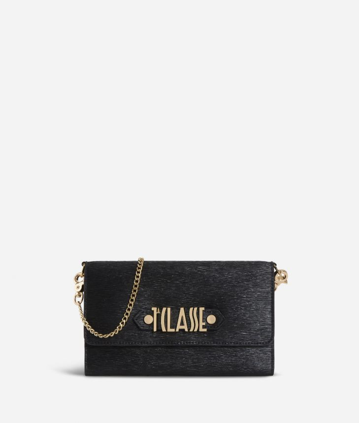 Winter Smile Pochette Black,front
